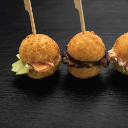 CRAB & SHRIMP SLIDERS
